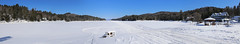 (Jean Arf) Tags: winter panorama snow ice february adirondack adk longlake 2015