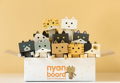 A litter of Nyanboards (Arielle.Nadel) Tags: yotsuba danbo danboard nyanboard