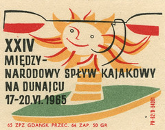 polish matchbox label (maraid) Tags: sun sport kayak label poland polish canoe packaging oar 1960s matchbox 1965