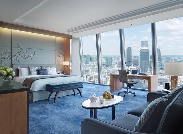 アフタヌーンティーで人気のホテル シャングリラ ホテル アット ザ シャード ロンドン