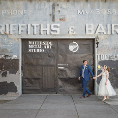 """These two make Footscray industry look glam - Tom & Libby • <a style=""""font-size:0.8em;"""" href=""""http://www.flickr.com/photos/21623077@N04/25006574231/"""" target=""""_blank"""">View on Flickr</a>"""