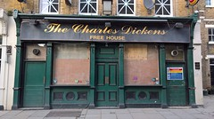 London 14 February 2016 019 (paul_appleyard) Tags: london up pub closed charles february dickens southwark boarded the 950 2016 lumia
