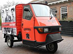 Amsterdam, De Hallen - Godfather's Kitchen 02 (Markus Lske) Tags: holland netherlands amsterdam ape godfather piaggio niederlande dehallen piaggioape lueske lske