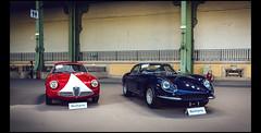 Ferrari 275 GTB Berlinetta (1966) & Alfa Romeo Giulietta SZ Coda Ronda (1961) (Laurent DUCHENE) Tags: ferrari ronda alfa romeo coda gtb 275 giulietta grandpalais sz berlinetta 2016 bonhams