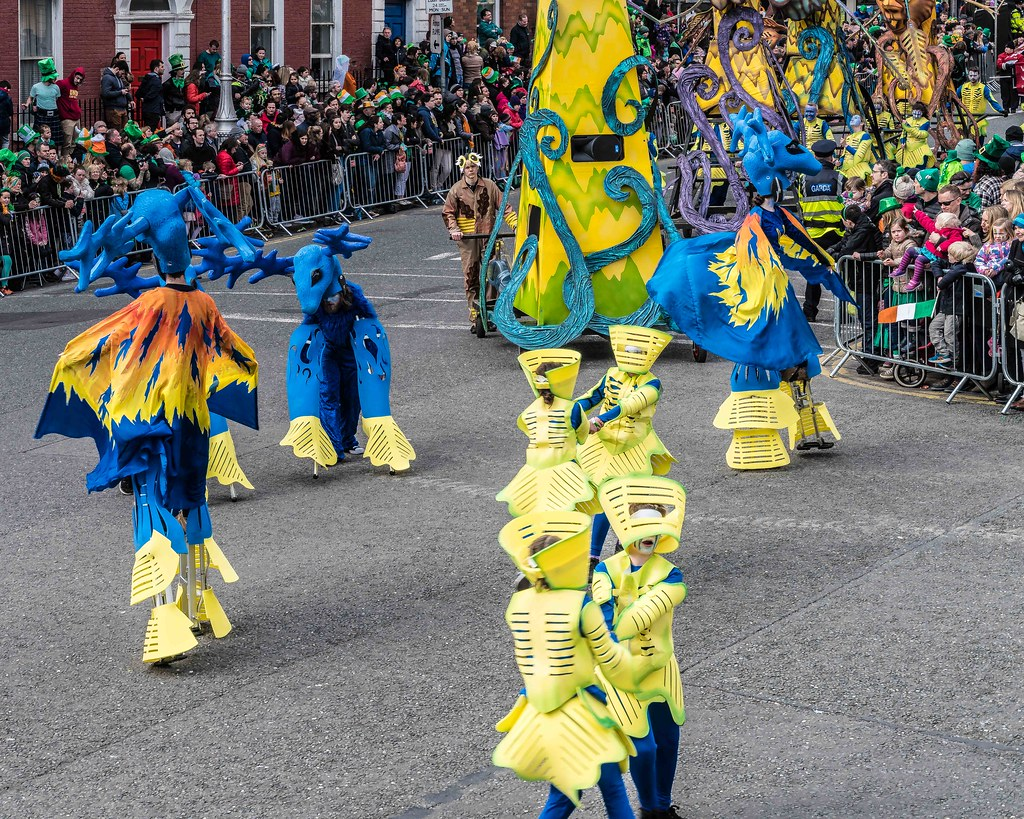 Dowtcha Puppet's At The St.Patrick's Parade [Dublin 2016]-112503