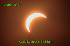 Solar partial eclipse on 9 Mar 2016 (Lim SK) Tags: