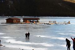 Banff, Lake Minnewanka, Feb 20, 2016 (11) (Velates) Tags: winter mountains rock landscape alberta banffnationalpark lakeminnewanka