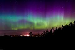 Aurora Dance (Froggien85) Tags: longexposure sky color norway night nikon nightsky bergen auroraborealis nordlys