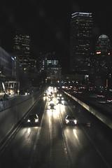 Mass Pike, Boston (Read2me) Tags: she road street city cars boston night buildings lights ge pree cye thechallengefactory tcfunanimous yourock1st challengeclubwinner perpetualchallengewinner