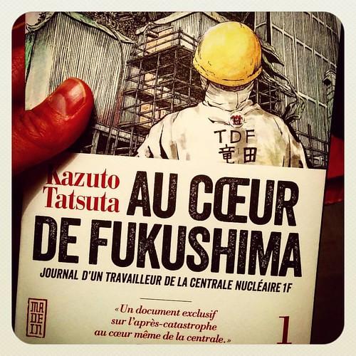 Rions un peu avant d'aller dormir #fukushima #nuclear #power #powerplant #japan #manga #kana