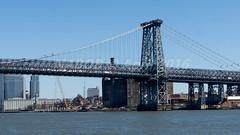 New York, NY: Williamsburg Bridge crossing the East River from Brooklyn to Manhattan (nabobswims) Tags: bridge newyork brooklyn us unitedstates manhattan manhattanbridge eastriver williamsburgbridge lightroom nabob sonya6000 nabobswims