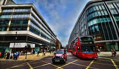 Oxford Street (Timfy Mills) Tags: street bus london nikon traffic taxi oxford sigma1224mm d610