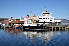 MV Argyle at Rothesay Pier (Russardo) Tags: ferry scotland clyde pier mac harbour cal argyle isle calmac mv caledonian bute rothesay macbrayne