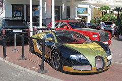Never enough. (Florian Joly Photography) Tags: money sexy cars girl wow stars photography gold hotel amazing cool cannes five arab florian bugatti martinez supercars veyron 2014 chromed 2015 joly grandsport