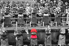 Little red riding hood army (__Thomas Tassy__) Tags: world camera trip travel red color art beautiful beauty statue japan canon wow wonderful fun photography eos 350d idea tokyo photo amazing cool nice fantastic perfect asia photographer shot superb artistic little gorgeous awesome great creative picture atmosphere pic tassy best riding abroad stunning imagine hood asie moment capture inspire japon beau magnifique prise joli meilleur genial grandiose splendide