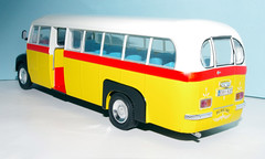 IMGP9578 (Steve Guess) Tags: bus ford scale yellow thames model malta 143 fordson oscale et7 eby537 7mmft