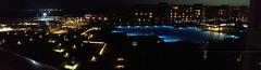 panorama by night (schiiiinken) Tags: panorama white beach night fb urlaub egypt resort gypten hurghada scb 2016