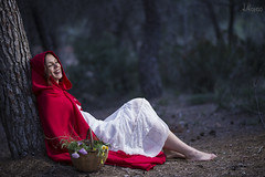 """Little Red Riding Hood"" (J. Alonso Photography) Tags: portrait nikon eva 85mm ibiza nacional d610"