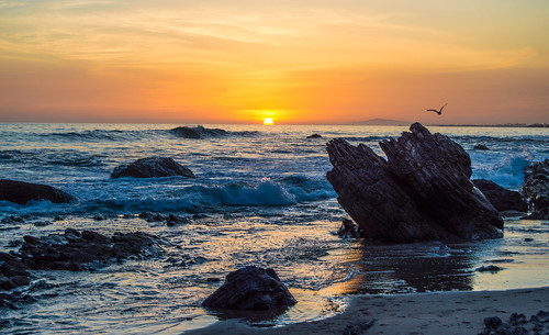 Sunset At Crystal Cove