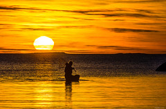 IMGP3119-2 copy (Tapio Kekkonen) Tags: summer moon beach sunrise sailing hanko subset bech finlad