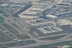 Rome FCO Airport - Aerial (gc232) Tags: from above italy rome plane airplane fly flying airport italia view live altitude jets flight jet terminal aerial apron deck planes a380 airlines runway airliner fiumicino fco runways golfcharlie232