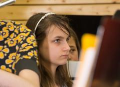 Konzertauftritt (picture-freak7200) Tags: portrait girl face gesicht musik konzert mdchen profil traum trumen