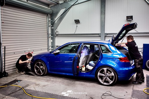 Audi Rs3 Satin Black Wrap A Photo On Flickriver