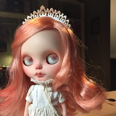 Babette (Kittytoes) Tags: blythe custom babette mademoisellerosebud
