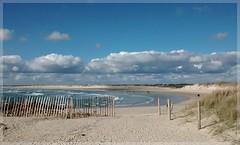 Pointe de la Torche (Solne O) Tags: ocean sea mer seascape france de landscape la dune sable bretagne breizh pointe nuage paysage plage quimper finistre torche ocan pointedelatorche