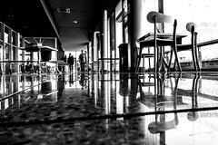 RAS DU SOL 017 (STEPHANE COSTARD PHOTOGRAPHIE) Tags: blackandwhite bw reflection canon noiretblanc silhouettes reflet brest projet ratseyeview rasdusol g5x