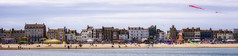 Lets Go Fly A Kite (DeanoNC) Tags: kite panoramic panasonic weymouth gx7