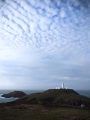 Strumble Head (joannasaviour) Tags: m43 epl5 olympus luminous mackerelsky clouds cloud skies pembrokeshire beach lighthouse light house coast coastal sky landscape sea ocean