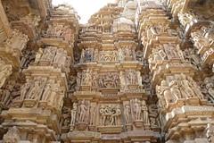India - Madhya Pradesh - Khajuraho - Khajuraho Group Of Monuments - Kandariya Mahadeva Temple - 229 (asienman) Tags: india khajuraho madhyapradesh khajurahogroupofmonuments asienmanphotography