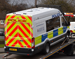 EX15YLT (Cobalt271) Tags: ford proud police northumbria transit to jumbo protect psu livery 470 l4h3 ex15ylt
