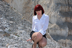 DCS_9901 (dmitriy1968) Tags: portrait cliff nature girl beautiful erotic outdoor wife quarry    sexsual