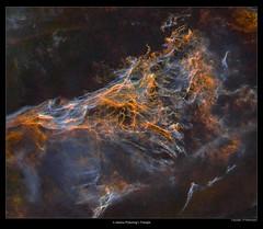 Starless Pickering's Triangle (J-P Metsavainio) Tags: stars colorful space nebula astronomy supernova cosmos filaments diffuse emission remnant cygnus starfield nebulae snr