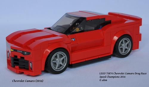 Lego 75874 Chevrolet Camaro Drag Race A Photo On Flickriver