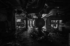 Labyrinth (izsofast) Tags: light urban plant nikon university industrial belgium dirty sciences urbex 1424 nikond4s