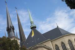 Cathdrale Notre-Dame de Luxembourg (Djof) Tags: history church architecture cathdrale histoire luxembourg glise luxembourgcity notredamedeluxembourg grandduchyofluxembourg grandduchdeluxembourg