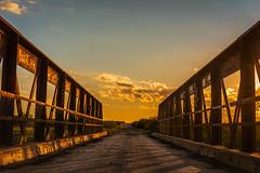 Bridge to nowhere (salvo.nicolas) Tags: bridge sunset argentina puente atardecer la pampa amarilla lapampa
