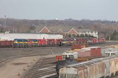 DME 6088 (CC 8039) Tags: ice minnesota yard minneapolis trains line cp soo dme sd402 sd40 gp40 ac44cw stlh hmboldt