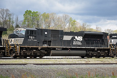 NS 7211 EMD SD80MAC (Jimmie Fisher) Tags: trains locomotives railroads norfolksouthern ashevillenc norfolksouthernrailroad