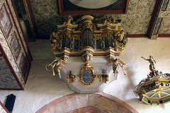 St. Kilian Bedheim, Schwalbennestorgel (palladio1580) Tags: thringen or kirche thueringen organ organo barock orgel orgue bedheim schwalbennestorgel sdthringen