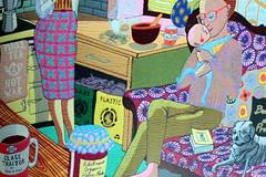 The Annunciation of the Virgin Deal (Benn Gunn Baker) Tags: uk light portrait england colour art scale make museum canon book bath war gallery baker tea small traitor vanity large victoria class grayson differences perry benn gunn tapestries the 550d britai t2i