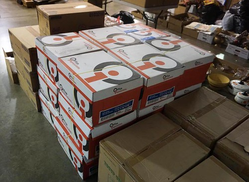 18 Cases of brand new legal paper ($346.50)