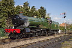 6990 Witherslack Hall (MitchellTurnbull) Tags: hall nikon great central railway steam western april modified locomotive 23rd loughborough gwr 460 2016 gcr 6990 d3200 witherslack