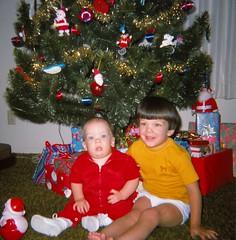 Christmas 1974 (Stabbur's Master) Tags: christmas christmastree ornaments christmasdecorations santaclaus christmasornaments