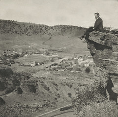 Hanging Around (Gwen Deanne) Tags: old colorado view antique stereo 1900 co lyons