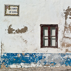 Aesthetic Of Decay (TablinumCarlson) Tags: leica blue anna house portugal window river faro 50mm europa europe d decay fenster paar haus atlantic m summicron m8 architektur algarve blau largo tavira fassade kste atlantik aesthetic gilo
