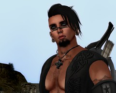 Marco (Vix Stoanes) Tags: life slut pirate second warrior rp slave warpaint roleplay dso gor gorean